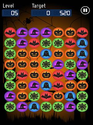 Monster Pop Halloween - screenshot