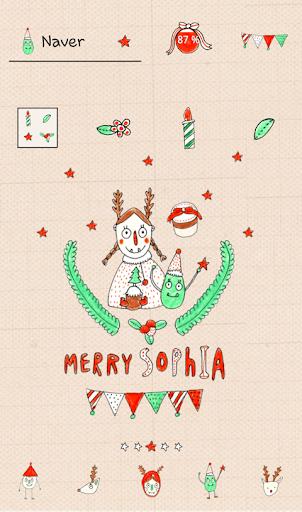 소피아 크리스마스 도돌런처 테마