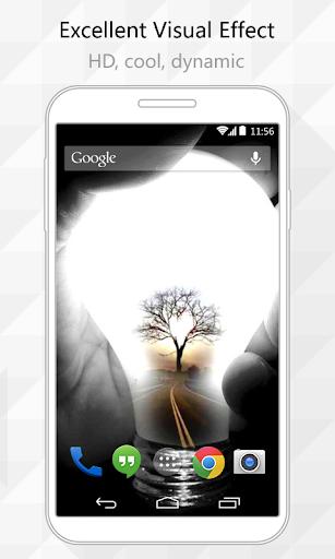 Tree Bulb Live Wallpaper