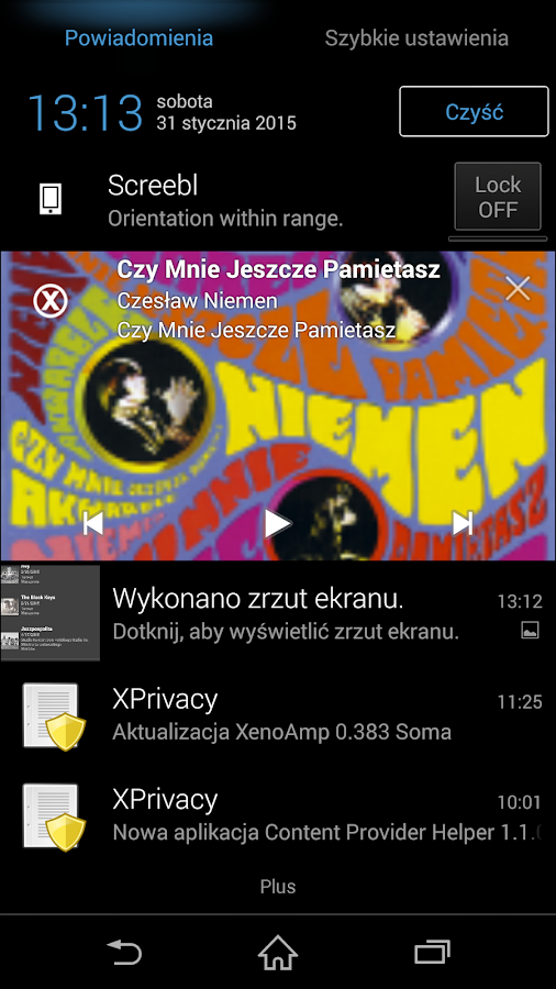 XenoAmp Music Player BETA - screenshot