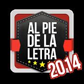 Al Pie de la Letra 2014