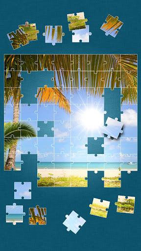 ビーチ ジグソーパズル ゲーム
