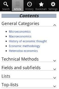 Economics Encyclopedia