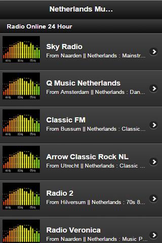 【免費音樂App】Netherlands Music Online-APP點子