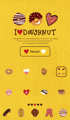 아이러브 도넛 도돌런처 테마