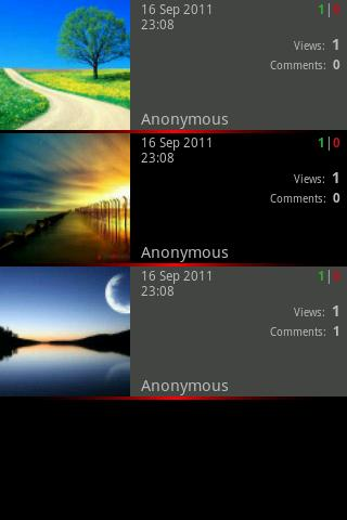 PhotoVote - screenshot