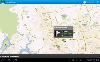 Screenshot of Cisco Data Meter