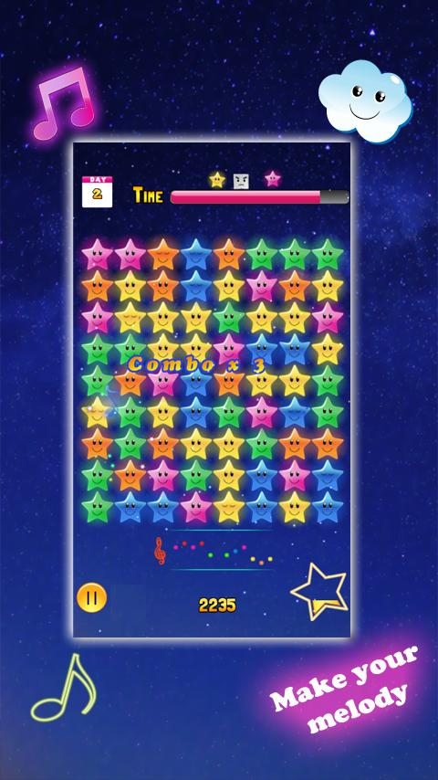 Starry Melody Free- screenshot