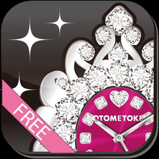 [免費]可愛的鬧鐘LWP的蔓藤花紋 個人化 App LOGO-硬是要APP