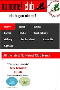 No Name Club- screenshot thumbnail