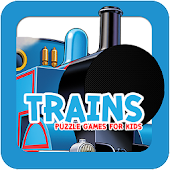 Trains Game Puzzle for kids