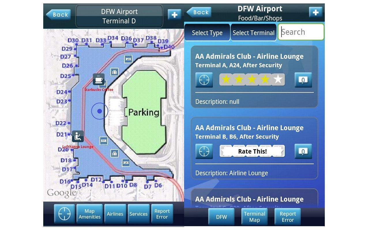 iFly Airport Guide - screenshot