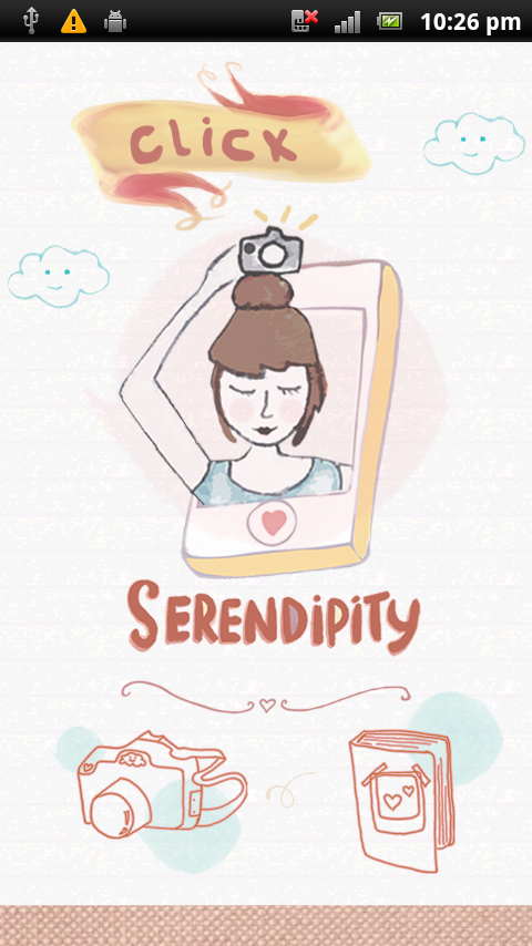 Click Serendipity- screenshot