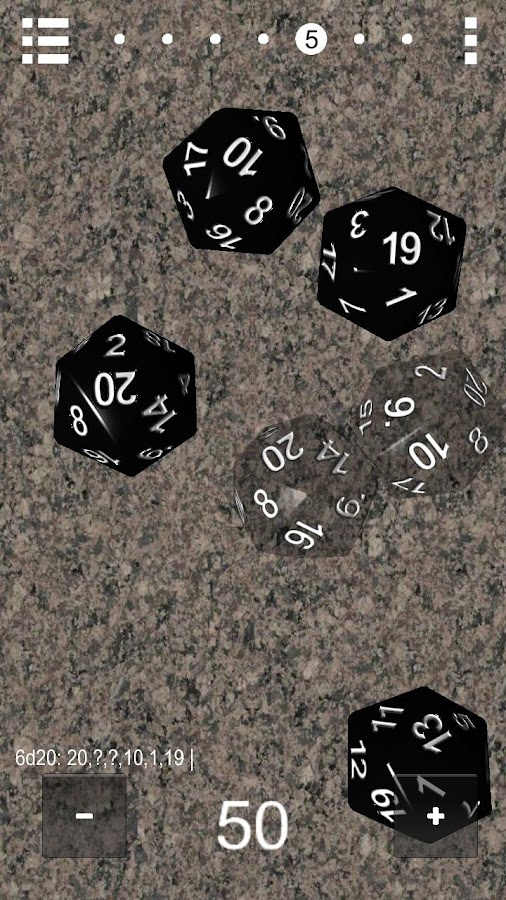 Prime Dice D&D - screenshot