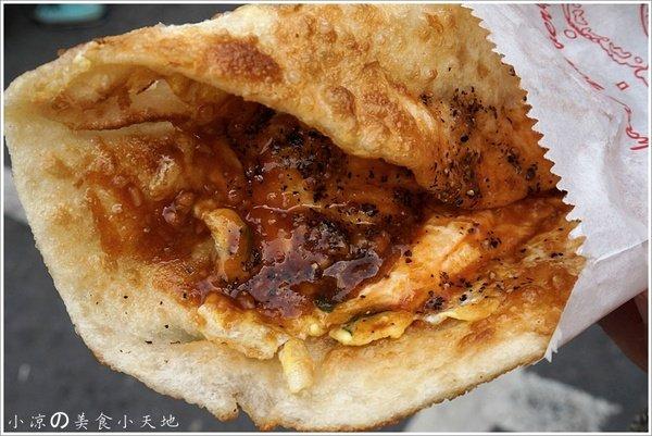 小米蛋餅║食尚玩家推薦在地銅板小吃。市場裡的隱藏版美食。芋香珍奶