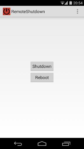 RemoteShutdown
