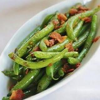 Quick Zesty Green Beans