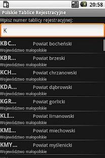 Registration plates of Poland - screenshot thumbnail