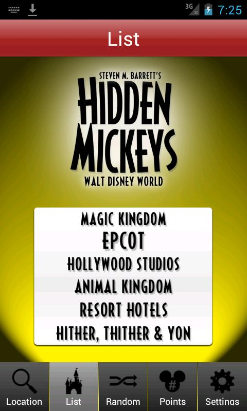 Hidden Mickeys: Disney World- screenshot