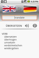 Screenshot of Euro Dictionary DEMO
