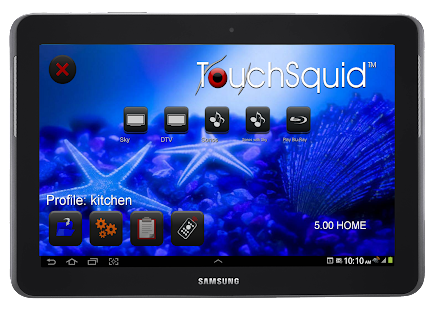 Touchsquid GR Home Remote - screenshot thumbnail