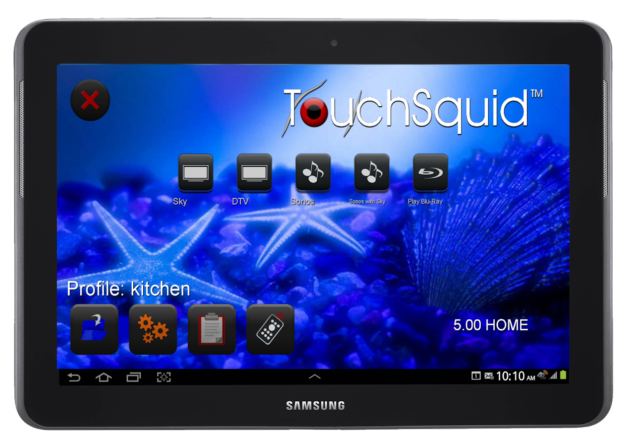 Touchsquid GR Home Remote- screenshot