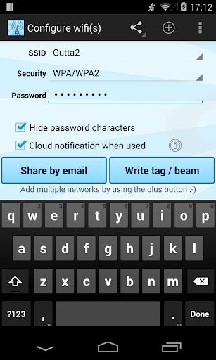 Instant NFC WiFi + Notify
