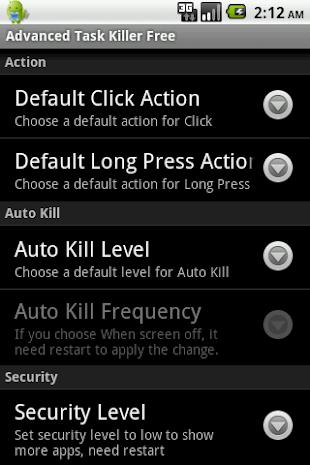 Advanced Task Killer Pro- screenshot thumbnail