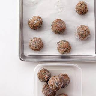 Light Turkey Meatballs.