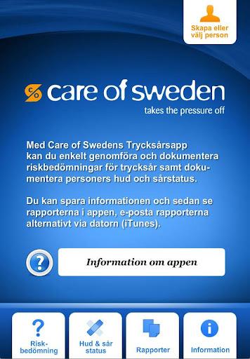 Care of Swedens Pressure Ulcer
