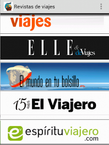 Revistas de Viajes screenshot 1