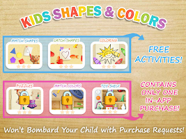 Screenshot of Kids Shapes & Colors Preschool
