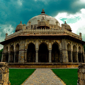 isa khan tomb by Madly Baangali - Buildings & Architecture Statues & Monuments ( tomb, mughals, india, architecture,  )