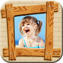 Insta Photo Frames Wood icon
