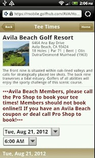 Avila Beach Golf Resort - screenshot thumbnail