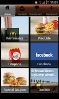 Screenshot of McDonald's Bonn