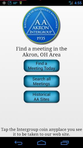Akron AA Meeting Locator