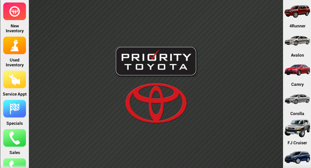 Priority Toyota- screenshot