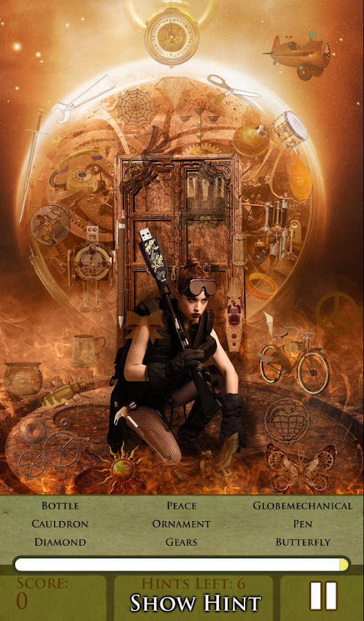 Hidden Object - Steampunked - screenshot