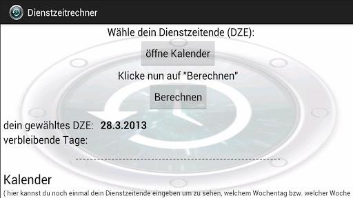 【免費工具App】DienstZeitRechner-APP點子