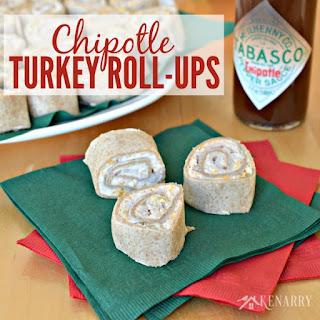 Chipotle Turkey Roll-ups