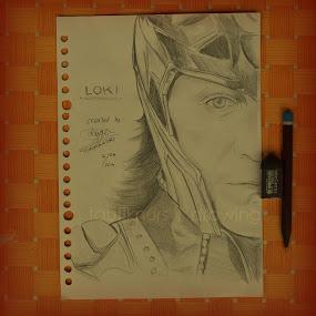 LOKI The Avenger by Taufik Nur Hidayat - Drawing All Drawing