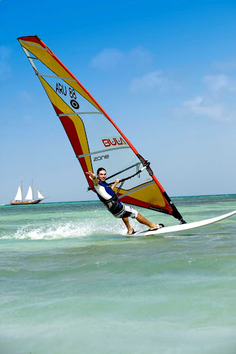 windsurfing-Aruba - Windsurfing in Aruba.