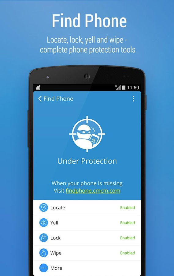 CM Security Antivirus AppLock - screenshot