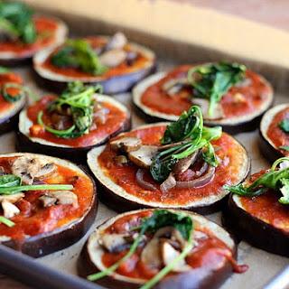 Vegan Eggplant Pizzas (Paleo, Vegan, Gluten-Free)
