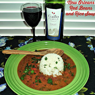 New Orleans Red Beans and Rice Soup.