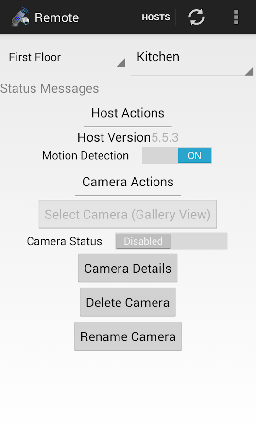IP Cam Viewer Remote Control- screenshot