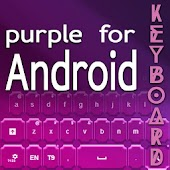Keyboard for Android Purple