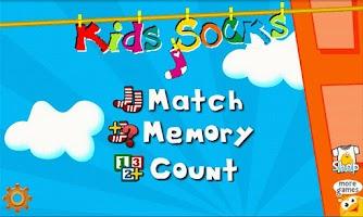 Screenshot of Kids Socks - Toddler game