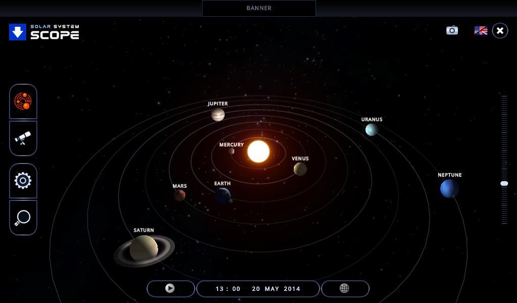 solar system orbits 3d - photo #15